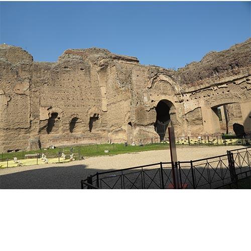 Bathouses of Caracalla 4